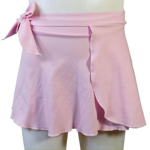 f2140d5c9f Saia de Ballet Transpassada Infantil Rosa da Capézio