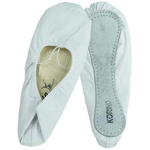 0754f2d043 Sapatilha Sinthetic Shoes Meia Ponta Capézio 002K - Branca