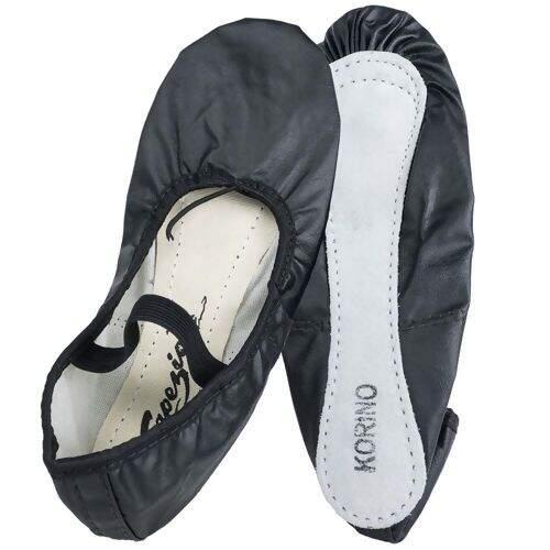 931c45523a Sapatilha Sinthetic Shoes Meia Ponta Capézio 002K - Preta