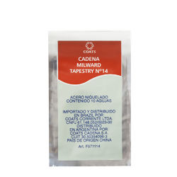 Agulha Tapestry Coats Corrente Nº 14 - Pct c/ 10 unidades