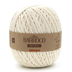 Barbante Barroco Natural da Círculo 700 gr