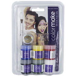 Kit Tinta Facial Líquida - Colormake