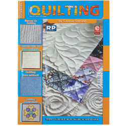 Revista Patchwork Quilting Ano IV Nº 49 c/ 01 Stencil
