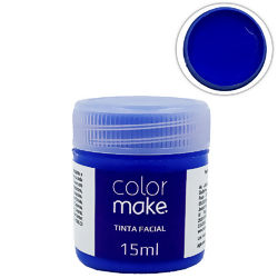 Tinta Facial Líquida 15 ml Azul - Colormake