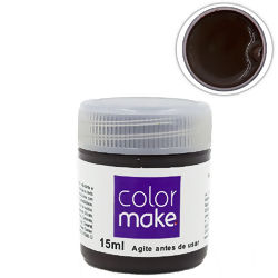 Tinta Facial Líquida 15 ml Marrom - Colormake